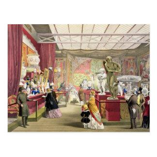 """Frankreich-Nr. 3, von """"Dickinsons umfassendem Pict Postkarte"""