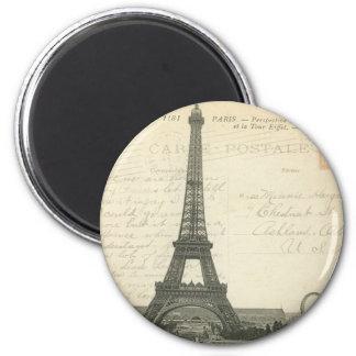 Frankreich - Paris - Eiffelturm-Magnet Runder Magnet 5,1 Cm