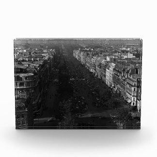 Frankreich Paris kaut elysees Allee 1970 Acryl Auszeichnung