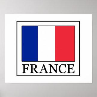 Frankreich Poster
