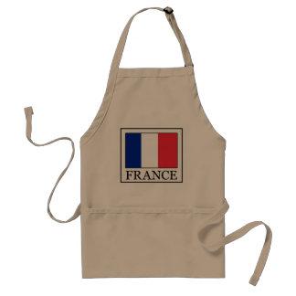 Frankreich Schürze