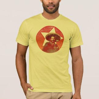 Fransisco (Pancho) Landhaus-Vintager roter Stern T-Shirt