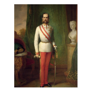 Franz Joseph I Postkarte