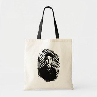 Franz Kafka-Porträt Budget Stoffbeutel