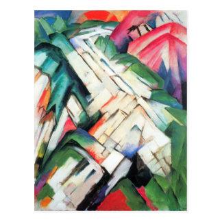 Franz Marc - Berge - Landschaft Postkarten