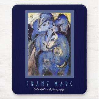 Franz Marc - der blaue Reiter - Mousepads