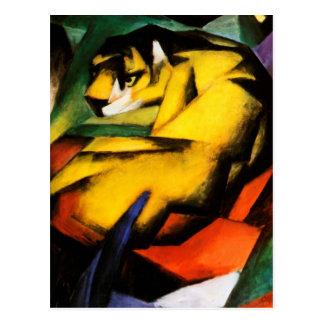 Franz Marc - Tiger Postkarte