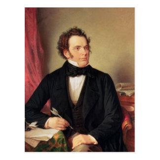 Franz Peter Schubert Postkarte
