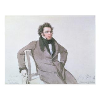 Franz Schubert, 1825 Postkarte