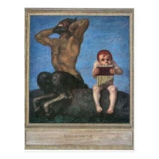 Franz von Stuck - Dissonance Postkarte