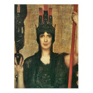 Franz von Stuck - Pallas Athene Postkarte