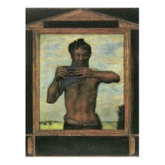 Franz von Stuck - Pan Postkarte