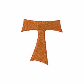 Franziskaner-TAU-Kreuz Besticktes Shirt