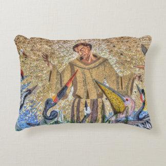 Franziskus von Assisi Mosaik Zierkissen