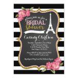 Franzose-Paris-Brautpartyeinladung 12,7 X 17,8 Cm Einladungskarte