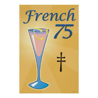 Franzosen 75 poster