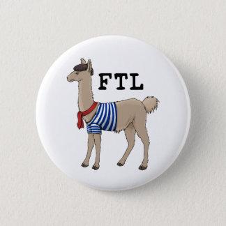 Franzosen der Lama-Knopf Runder Button 5,1 Cm