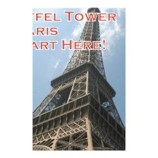 Franzosen Eiffelturm-Paris Frankreich Sommer-2016 Briefpapier
