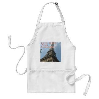 Franzosen Eiffelturm-Paris Frankreich Sommer-2016 Schürze