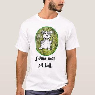 Franzosen: Gruben-Stier-Liebe-Shirt T-Shirt