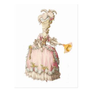Franzosen Marie Antoinette Postkarte