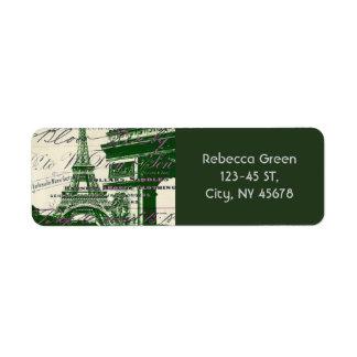 Franzosen scripts Paris-Eiffelturmbogen des