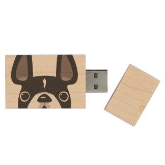 Franzosen USB-Ahorn-Blitz spähend, fahren Sie - Holz USB Stick