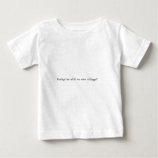 Französisch-Dorf Baby T-shirt
