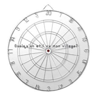Französisch-Dorf Dartscheibe