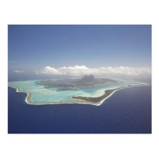 Französisch-Polynesien, Tahiti, Bora Bora. Postkarte