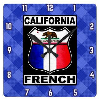 Französische amerikanische Uhr Kaliforniens