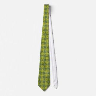 Französische Aster-Krawatte - grüne Diamanten Personalisierte Krawatte