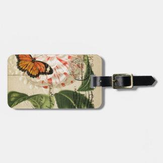französische botanische Kamelie der Gepäckanhänger