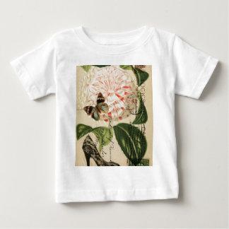 Französische botanische Kunst des Pariser Baby T-shirt