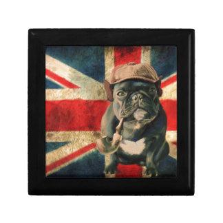 Französische Bulldogge 2 Erinnerungskiste