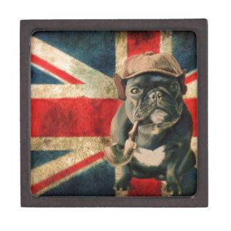 Französische Bulldogge 2 Kiste