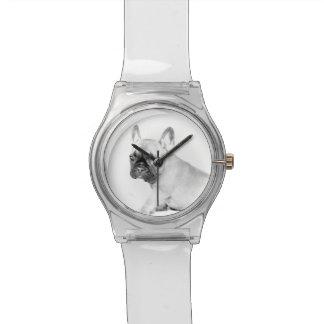 Französische Bulldogge Armbanduhr