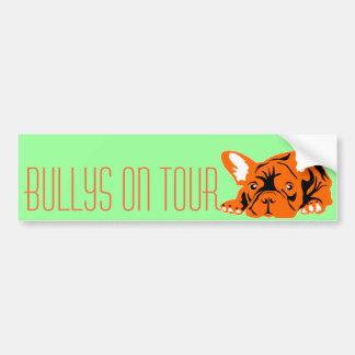 Französische Bulldogge Autoaufkleber