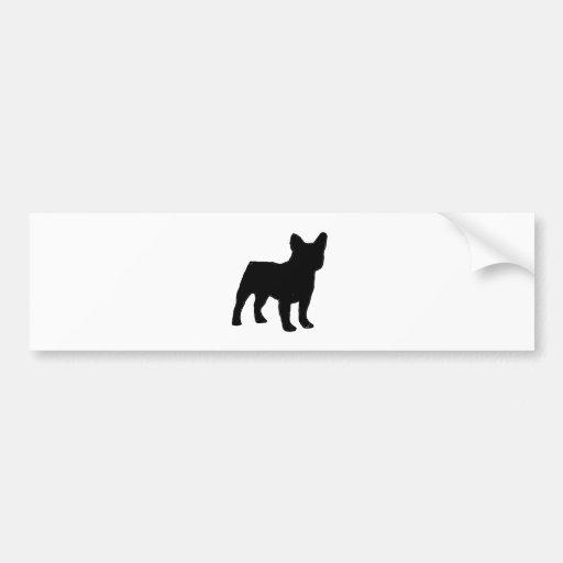 französische Bulldogge Autosticker