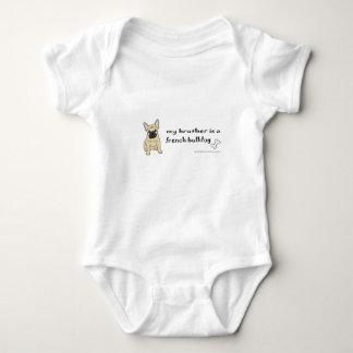 französische Bulldogge Baby Strampler