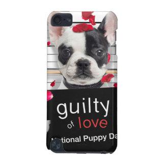 Französische Bulldogge des Valentinstags iPod Touch 5G Hülle