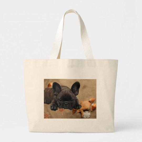 Französische. Bulldogge Einkaufstasche