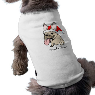 """Französische Bulldogge """"Frenchie Klausel-"""" - Shirt"""