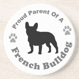 Französische Bulldogge Getränkeuntersetzer