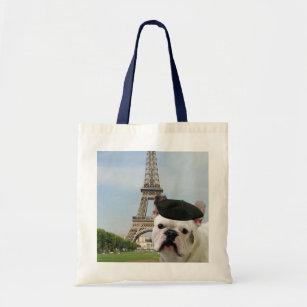747a6959147d3 Französische Bulldogge in der Paris-Taschentasche Tragetasche