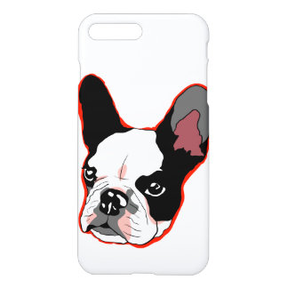 Französische Bulldogge iPhone 7 Plusfall iPhone 8 Plus/7 Plus Hülle