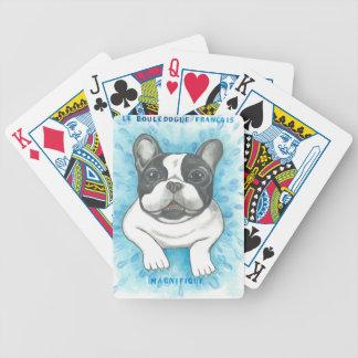 Französische Bulldogge Magnifique Spielkarten