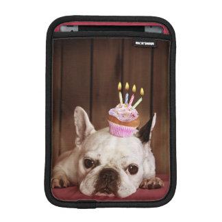 Französische Bulldogge mit Geburtstags-kleinem Sleeve Für iPad Mini