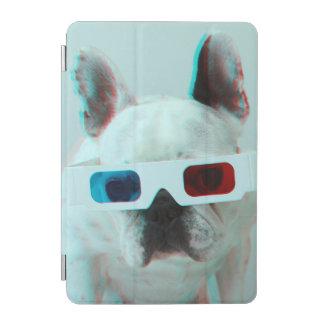 Französische Bulldogge mit Gläsern 3D iPad Mini Hülle