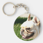 Französische Bulldogge Schlüsselanhänger